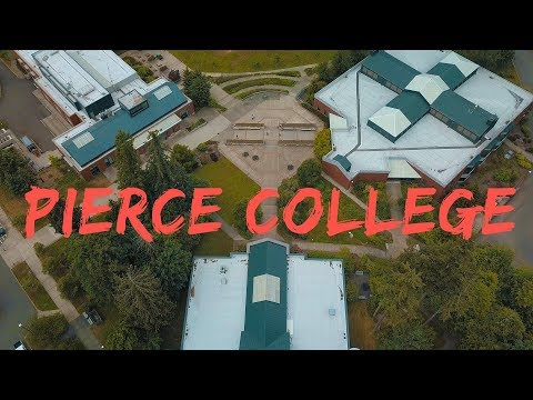 Pierce College Puyallup Drone