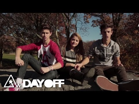 Interview   Cameron Dallas, Princess Lauren, Nash Grier   #DayOff