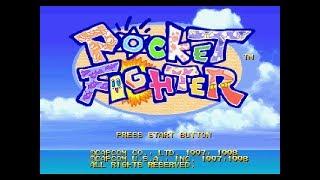 PSX Longplay [385] Pocket Fighter