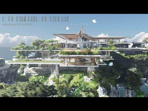 Xálima ,The Movie.  A Villa At the Caribbean Sea.