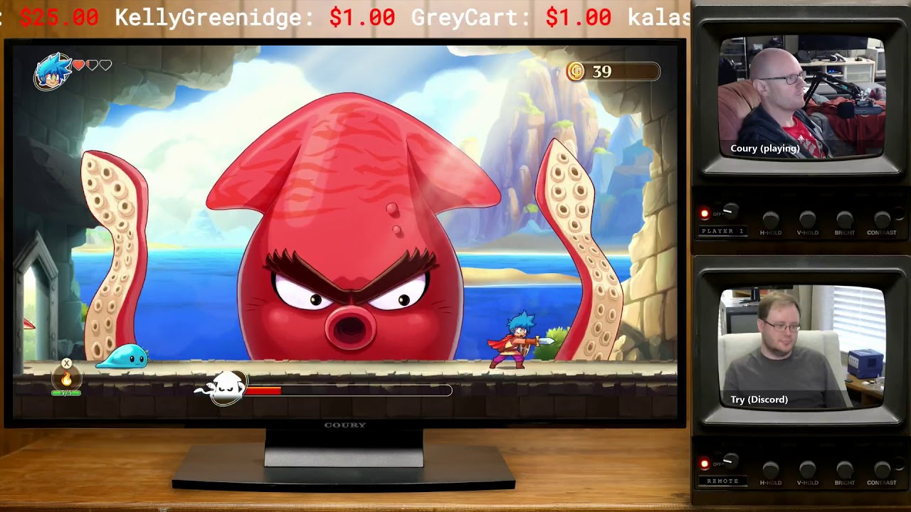 Monster Boy and the Cursed Kingdom #1 :: Twitch Archive 12.5.2018 / MY LIFE IN GAMING - Monster Boy and the Cursed Kingdom #1 :: Twitch Archive 12.5.2018 / MY LIFE IN GAMING