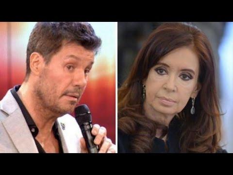 Cristina Kirchner lo trató de idiota y Marcelo Tinelli le respondió con una ironía
