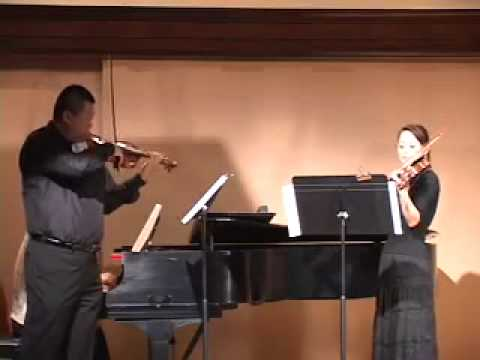 Violinbaby Music Teacher's Concert, Bach Double 2nd mov.