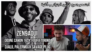 Djalil Palermo X Savage Plug X Didine Canon 16 X Foufa Torino - Zen9aoui (Syr Reaction)