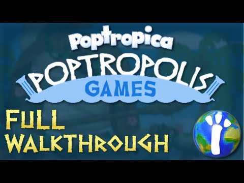 ★ Poptropica: Poptropolis Games 2013 Full Walkthrough ★