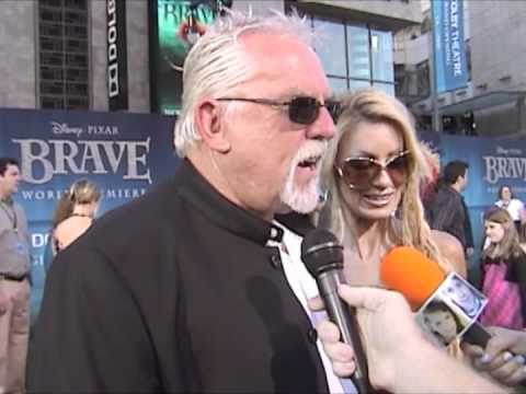 John Ratzenberger, voice of Gordon at the Brave World Premiere