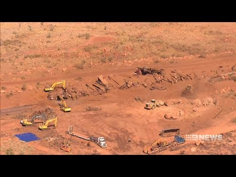 Train Derailment | 9 News Perth
