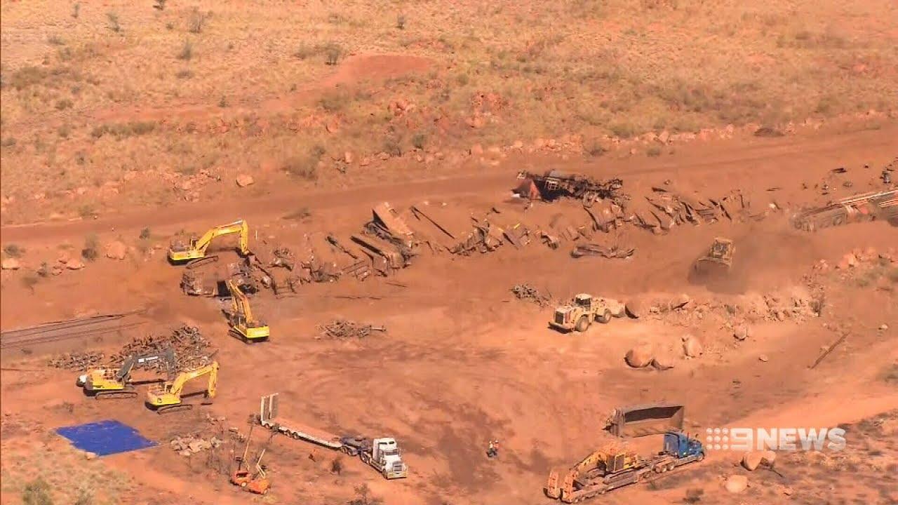 Train Derailment | 9 News Perth