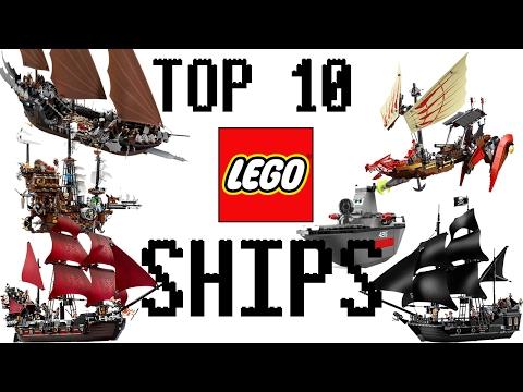 Top 10 Lego Ships!!!