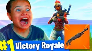 *NEW* LEGENDARY PUMP SHOTGUN DOES SO MUCH DAMAGE!!! DOUBLE PUMP BACK? FORTNITE BATTLE ROYALE!