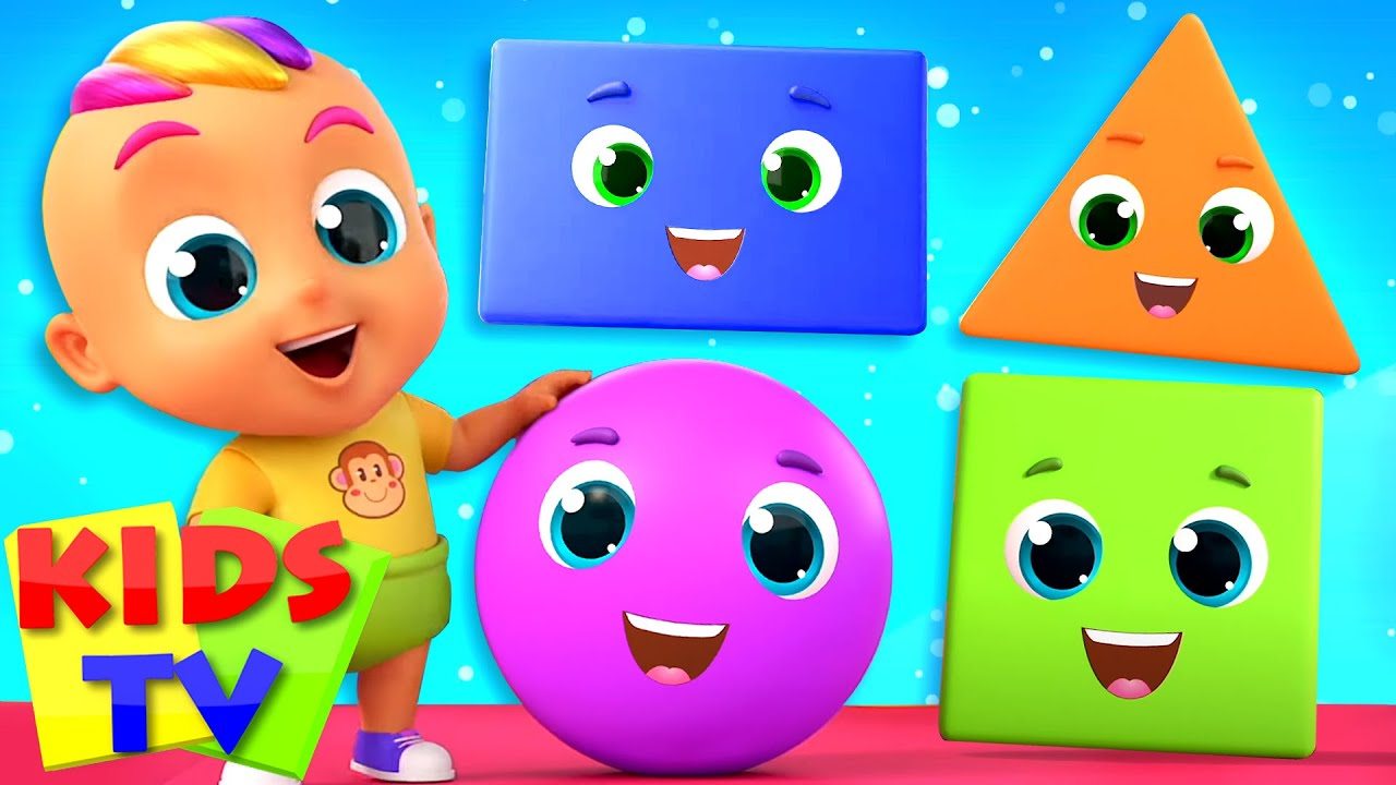 Shapes Game Song | Shapes for Kids | Shapes Name | Nursery Rhymes & Baby Songs | Zoobees | Kids Tv