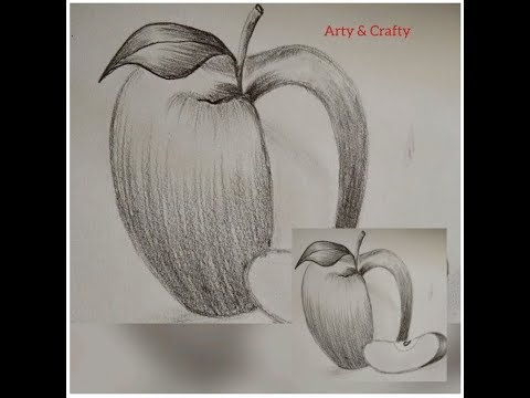 How to Draw an Apple | Pencil shading #PencilShading  #SimpleTechniques#Beginners #Realisticapple