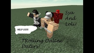 Roblox | Loli And Sya Trolling Oder! #MonsterFromHell