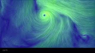 Cyclones in a Global Wind Map