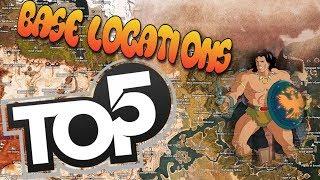 Top 5 SPOTS to build Conan Exiles