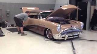 G-54 Buick on the Dyno