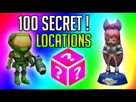 GTA ONLINE - ALL 100 HIDDEN COLLECTIBLES ACTION FIGURES LOCATION !&IMPOTENT RAGE OUTFIT