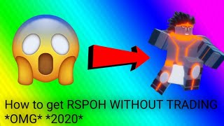HOW TO GET RSPOH WITHOUT TRADING (2020) | ABD