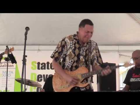 "Luther ""Badman"" Keith ""Blue House"" Detroit Blues Music Festival June 22, 2019"