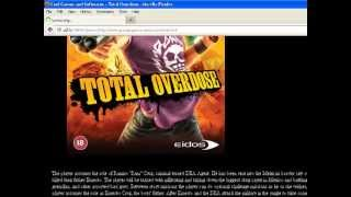 how to download total overdose for pc