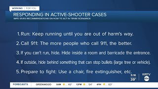 How to act and respond to an active shooter