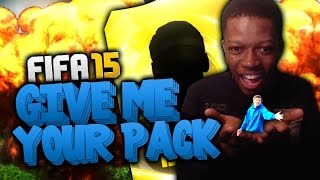 FIFA 15 PACK OPENING WITH THE CHEAP WROETOSHAW - GIVE ME YOUR PACK SERIES !