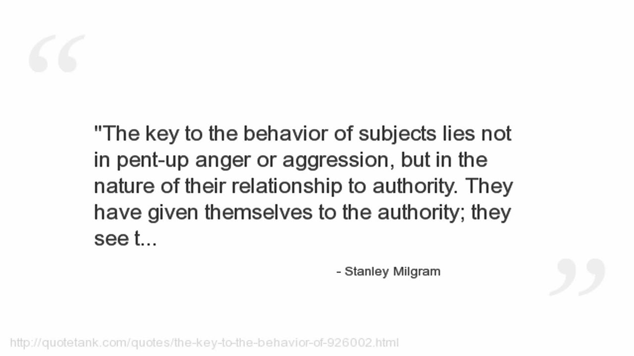 Milgram Experiment   Simply Psychology