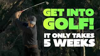 Get Into Golf, Our new adult introductory program!