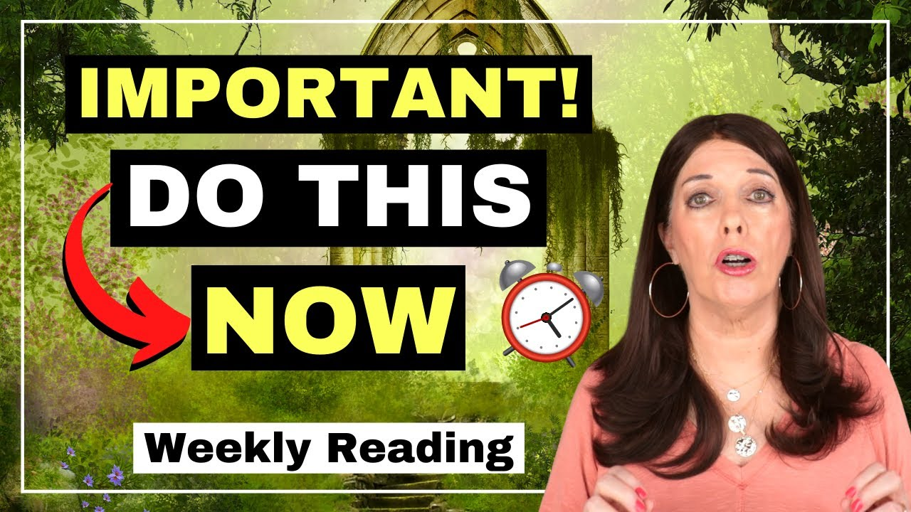 IMPORTANT! 👉Seek Higher Ground NOW 🔥 | The Temple of Your Highest Self | Weekly Reading 6/21