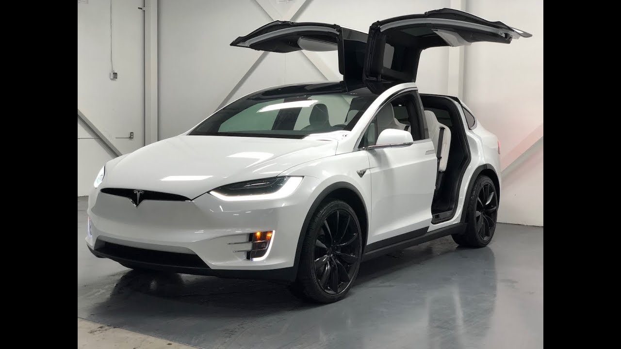 2017 tesla model x 90d walkaround features in 4k youtube. Black Bedroom Furniture Sets. Home Design Ideas