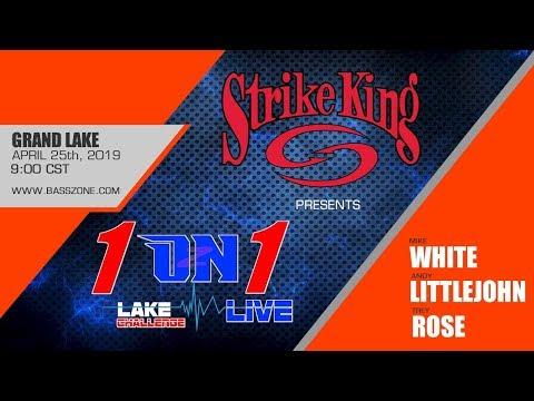 1 ON 1 LIVE STRIKE KING LAKE CHALLENGE - Trey Rose