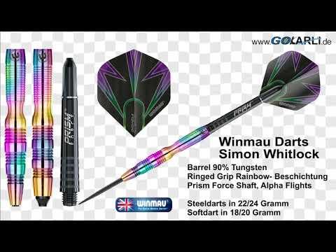 WINMAU Simon Whitlock Darts 90/% Tungsten Softdarts