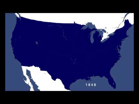 The Expansion of the Contiguous United States   1776 to 1853