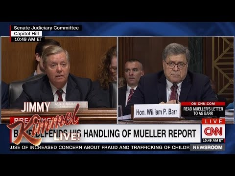 Jimmy Kimmel Breaks Down Attorney General Barr's Senate Hearing
