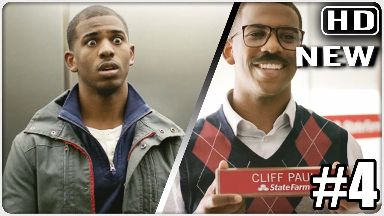 f65f3e1d454b Chris Paul finds secret twin brother   Born to assist State Farm advert -  YouTube