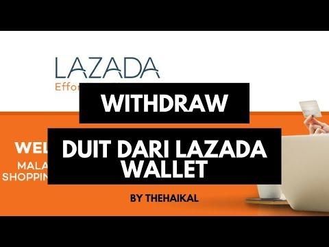 Cara Withdraw Duit Dari Lazada Wallet
