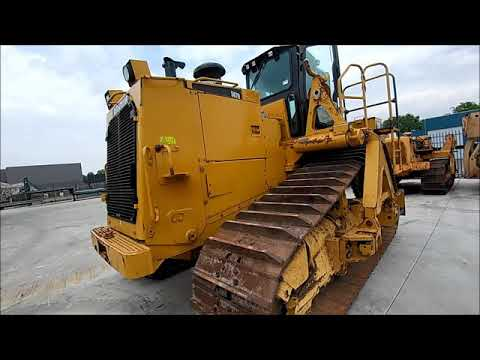 CAT 587R Used Pipelayer Inspection with torque stall test