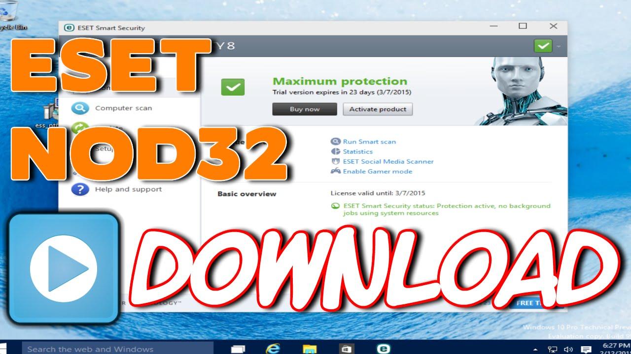 eset smart security 9 full version free download