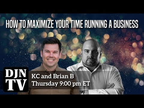 How To Maximize Your Time on Running Your DJ Business With KC and Brian B | #DJNTV