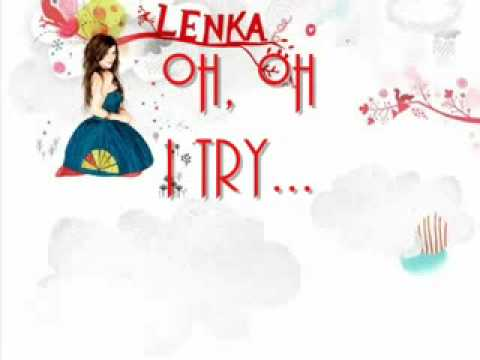 Lenka Trouble Is A Friend Lyrics