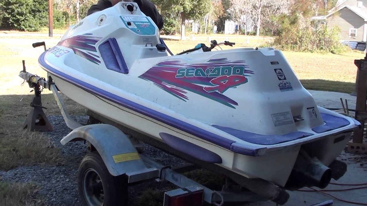SeaDoo ChopChop For Jon Boat Conversion