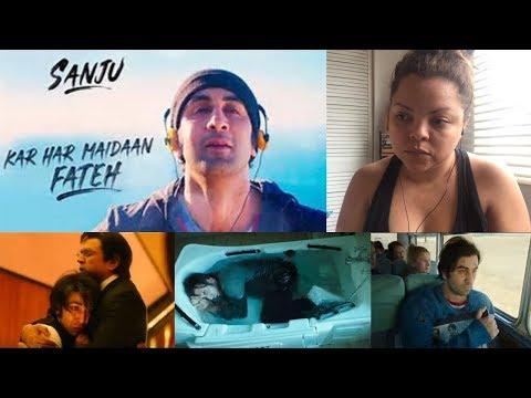 Kar Har Maidaan Fateh Video Song Reaction | SANJU | Ranbir Kapoor | Rajkumar Hirani
