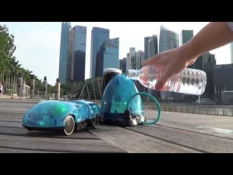 [Vídeo] Agua + sol + un iPhone = el vehículo i-H2GO