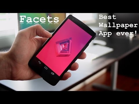 Facets - Best Wallpaper App On Android [Google Play App]