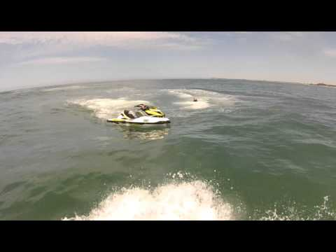 Trav's SeaDoo Jet Ski Duck Diving Crash off Ocean Grove, Melbourne, Victoria, Australia