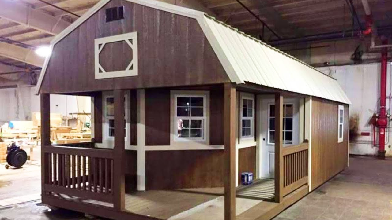 Sheds Turned Into Cabins