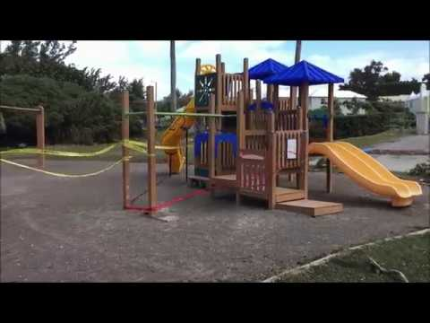 Shelly Bay Playground & Beach Storm Damage, March 5, 2018