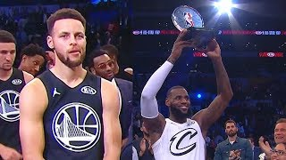 Stephen Curry Sad After Losing to Team LeBron James in the 2018 NBA All-Star Game!