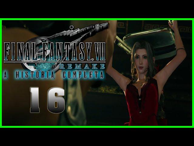 Final Fantasy VII Remake : A Historia Completa - Parte 16 - CAPSLOCK