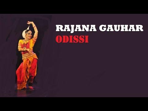 Dancing footsteps in rain: Odissi recital by Padma Shri Ranjana Gauhar, Mudra Fest 2012
